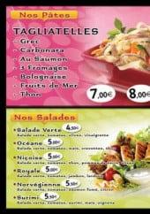 Menu O'delice - Les pâtes, salades, couscous...