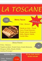 Menu La toscane - Les formules menus