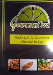 Menu Gourmand'zza - Carte et menu Gourmand'zza Aire sur la Lys