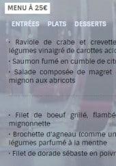 Menu Le Moulin - Menu à 25€