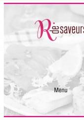 Menu R de Saveurs - Carte et menu R de Saveurs Aire sur la Lys