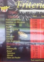 Menu Friterie Norrent Fontes - Les sandwiches, paninis, viandes...