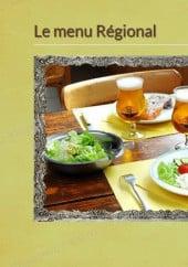 Menu Abri Des Visiteurs - Le menu régionale