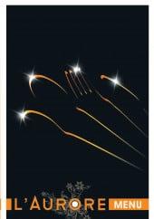 Menu L'aurore - Carte et menu L'aurore boulogne sur mer