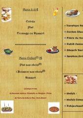 Menu Au vieux Jack - Les menus, les plats chauds ...