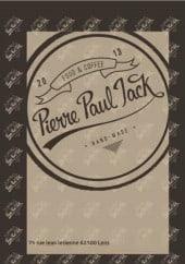 Menu Pierre Paul Jack - Carte et menu Pierre Paul Jack Lens