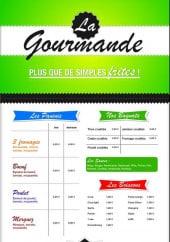 Menu La gourmande - Les paninis, les bagnats, le menu enfant ...