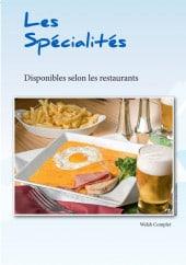 Menu Le Ch'ti Charivari - Les spécialités