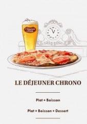 Menu Le Comptoir du Malt - Le chrono dejeuner