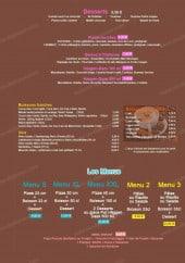 Menu Il parma - Les desserts, boissons et menus
