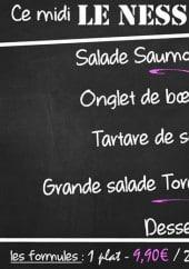 Menu Le Ness - Un exemple de menu du jour