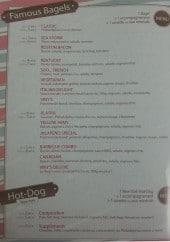 Menu Viny's famous Bagels - Bagels et hot dog