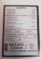 Menu Delice Kebab 2 - Assiettes