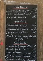 Menu L'Air 2 Rien - Un exemple de menu du jour