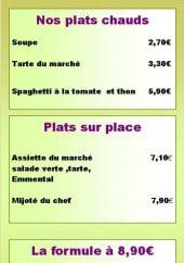 Menu So Food - Plats et menu