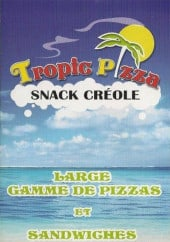 Menu Tropic Pizza - Carte et menu Tropic Pizza Bayonne