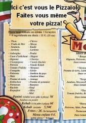 Menu Sergio Pizza - Les menus