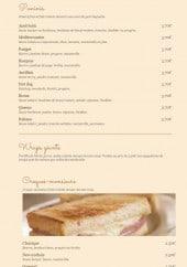Menu Do Eat Yourself - Les paninis, wraps...