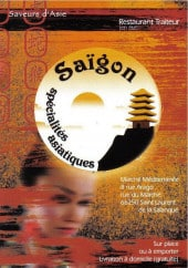 Menu Saïgon - Carte et menu Saïgon Saint Laurent de la Salanque