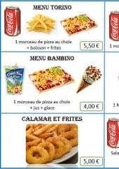 Menu Pitstop - Les menus