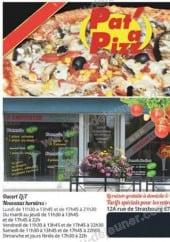 Menu Pat à Pizz - Carte et menu Pat a pizz Erstein
