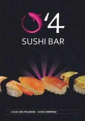 Menu O'4 Sushi - Carte et menu O'4 Sushi Obernai