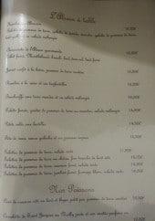 Menu Le Tigre - L'Alsace à table et les poissons