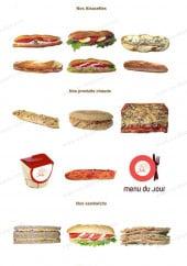 Menu Les Fameuses Bretzels de Colmar - Les sandwichs, paninis, pizzas ...