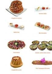 Menu Les Fameuses Bretzels de Colmar - Les verrines salées, buffets froids ...