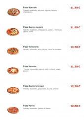 Menu T-Pizzas - Les pizzas spéciale, tonnarella, messina...