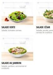 Menu Papa John's - Salades