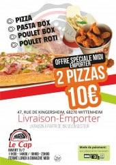 Menu Le cap - Carte et menu Le cap Wittenheim
