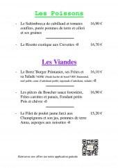 Menu Les Mil'Saveurs - Poissons et viandes