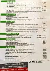 Menu Alto Gusto - Les burgers, plateaux,....