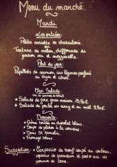 Menu L'Ange di Vin - Extrait de menu