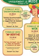 Le Jardin De Berthe A Lyon 2 Carte Menu Et Photos