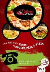 Menu Les Délices de la Villette - Carte et menu Les Délices de la Villette Lyon 3