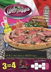 Menu Uno Pizza - Carte et menu Uno Pizza Lyon 3
