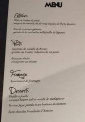 Menu Wee-An - Le formule menu et une suggestion du jour