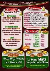 Menu Le four à pizza - Salades et tex mex