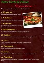 Menu La lambretta - Les pizzas 1