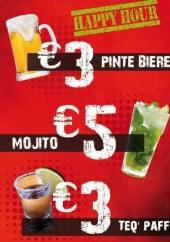 Menu Le Pas Sage - Les boissons
