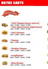 Menu Mayo ketchup - Les burgers