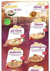 Menu Casa di pizza - Les spécialités