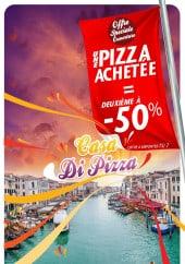 Menu Casa di pizza - Carte et menu Casa di pizza Decines Charpieu