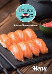 Menu D'Sushi - Carte et menu D'Sushi Decines Charpieu