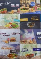Menu Kebab Du Pont - Kebab, koft, cheese burger...