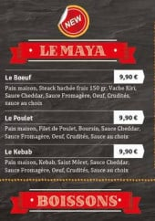 Menu k&b house - les boissons