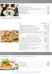 Menu Le Petit Genassien - Le menu du jour