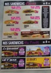 Menu Family Food - Les sandwiches